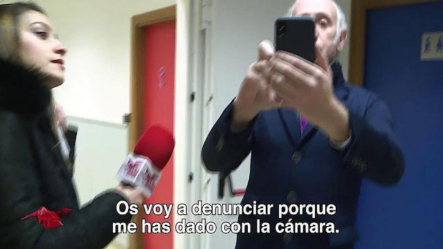 Eduardo Inda denuncia una supuesta agresión en los pasillos de Telecinco