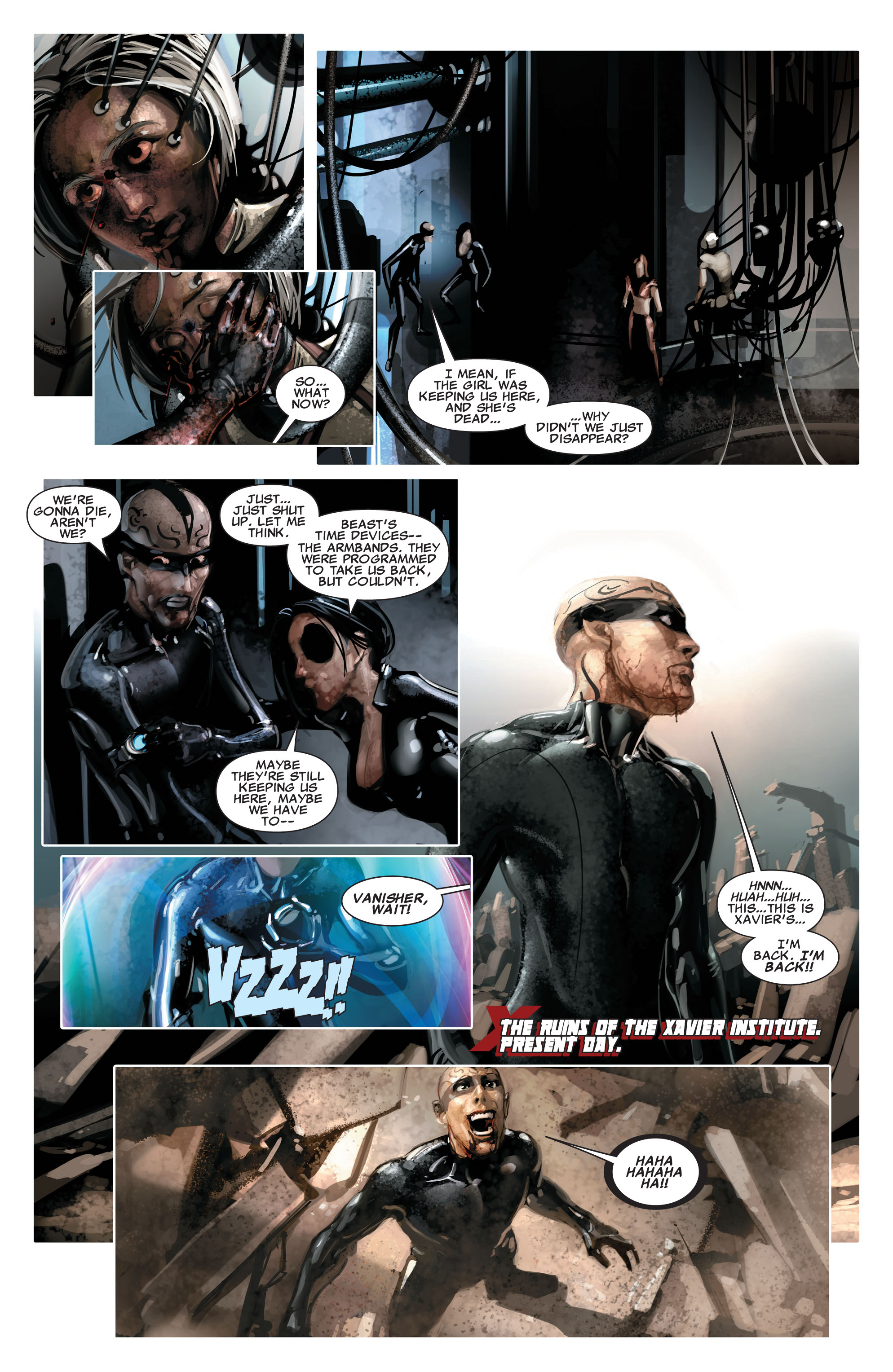 Read online X-Force (2008) comic -  Issue #16 - 10
