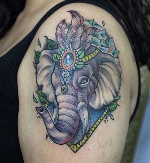 kadın omuz dövmeleri woman shoulder tattoos 22