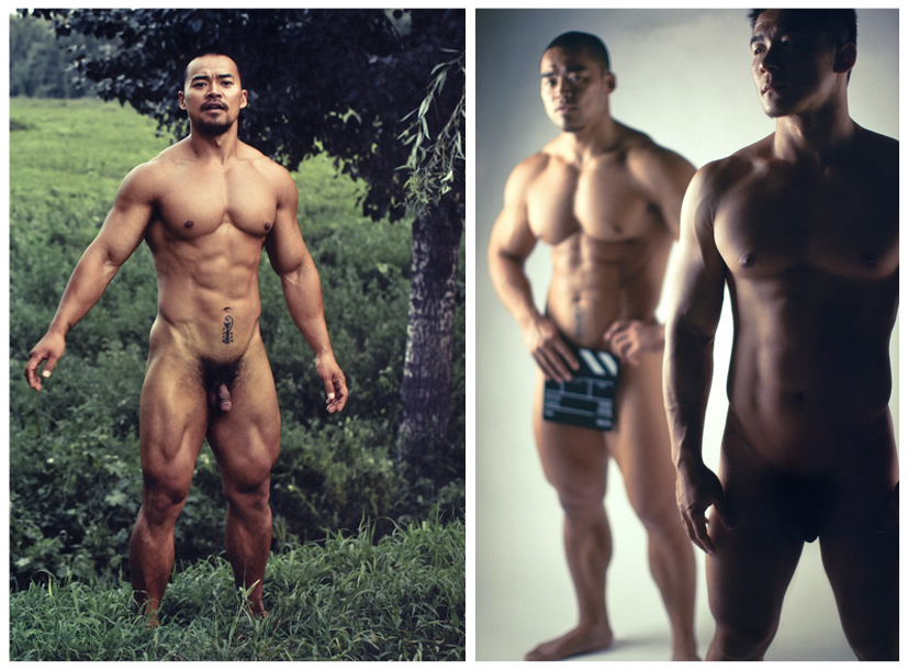 Wang Wei Bodybuilder