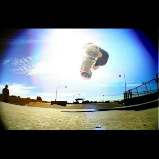 Mark Jansen Skateboarding Adelaide Big Air