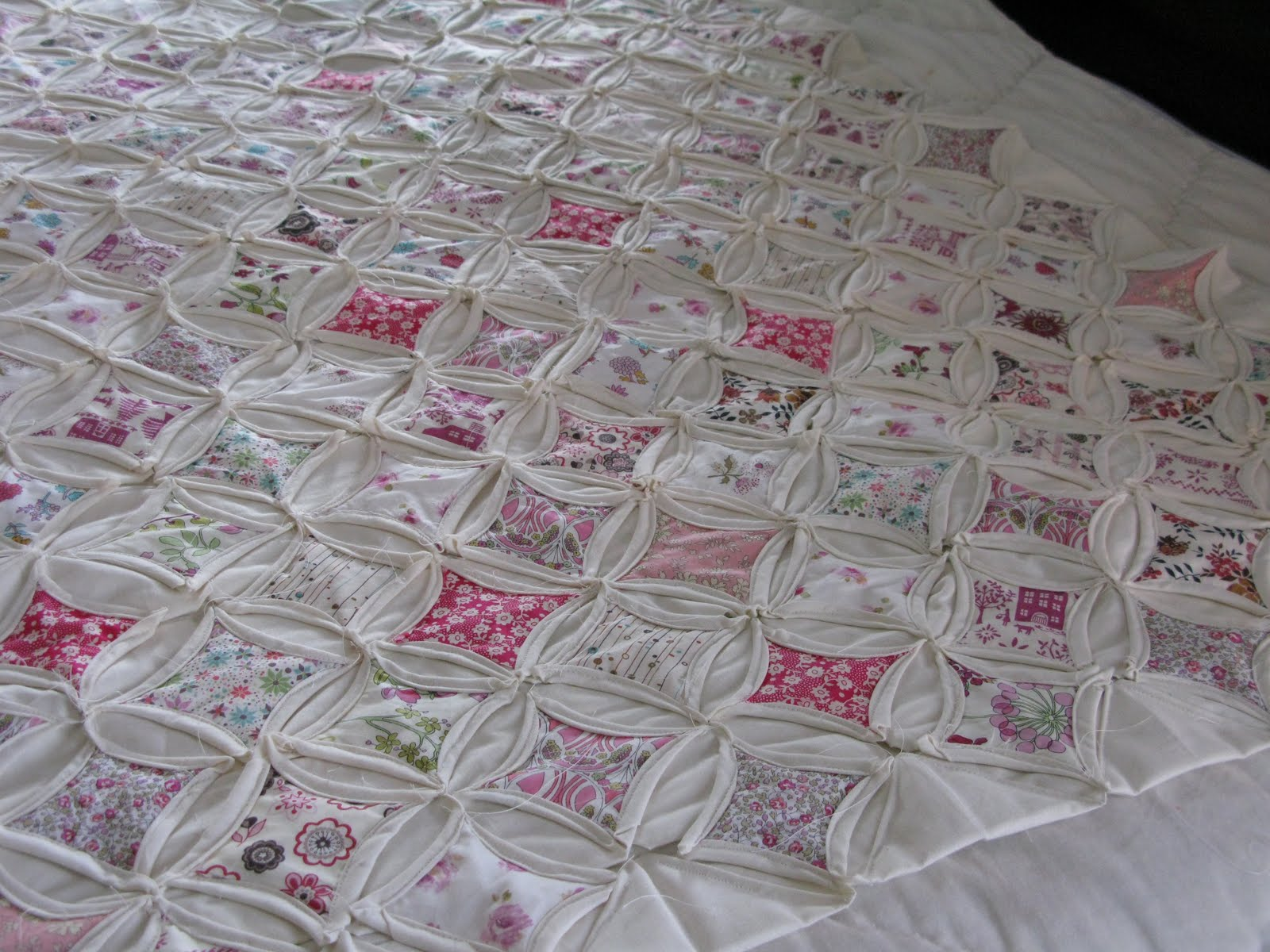 Sew Nancy Cathedral Window Quilt