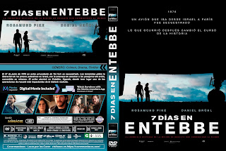 CARATULA-RESCATE EN ENTEBBE / 7 DÍAS EN ENTEBBE - 7 DAYS IN ENTEBBE