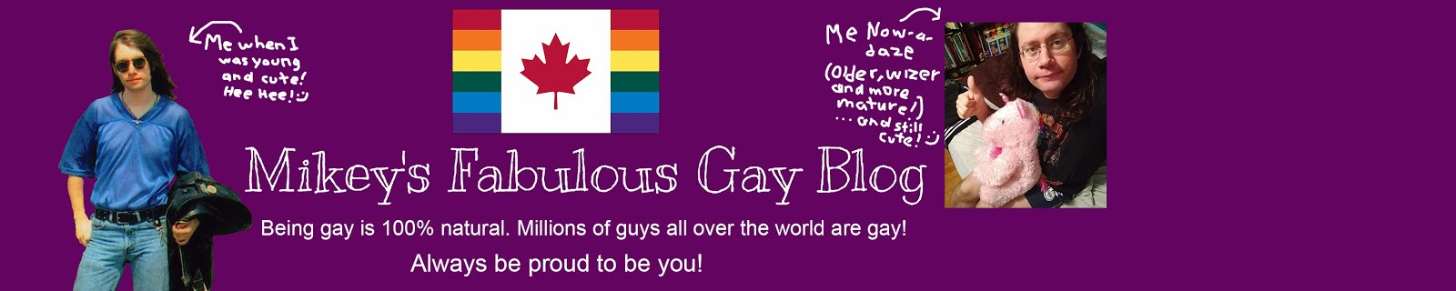 Mikey's Fabulous Gay Blog