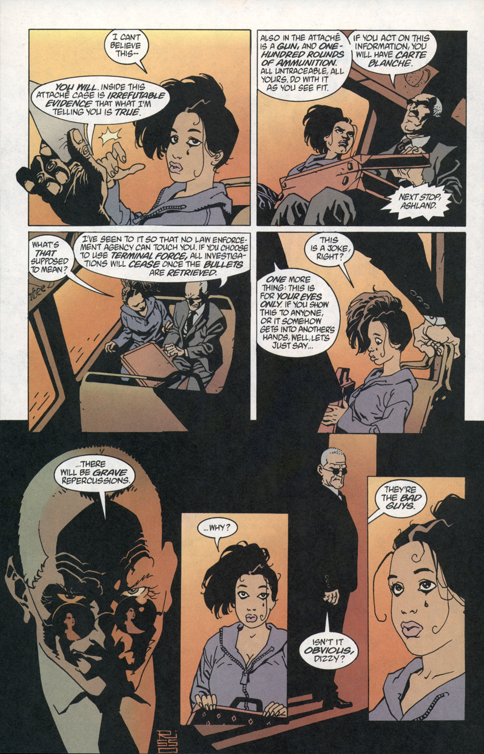 Read online 100 Bullets comic -  Issue #1 - 11