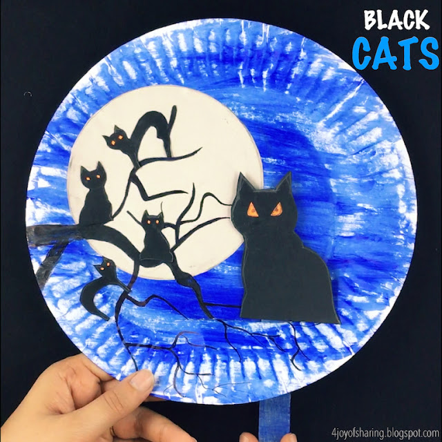 black cat paper craft the of black cats craft 3458