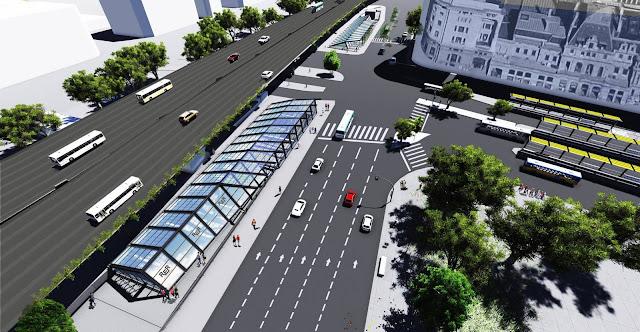 Resultado de imagen para Constitución: licitan la construcción de la estación de trenes subterránea