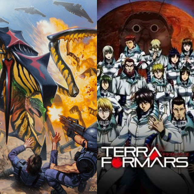 TERRA FORMARS A MOST WATCH FOR ANY STARSHIP TROOPERS FAN