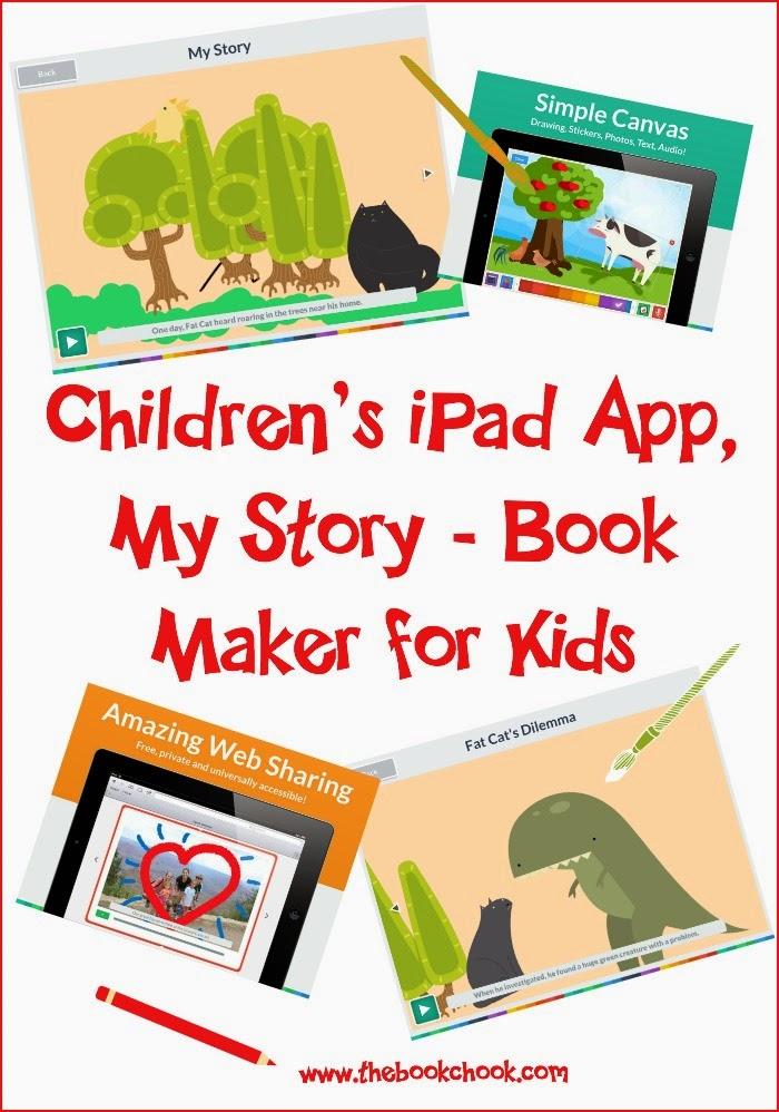 The Book Chook: Children's iPad App, My Story - Book Maker