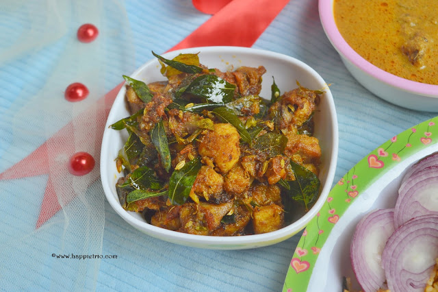 Curry Leaves Chicken Roast