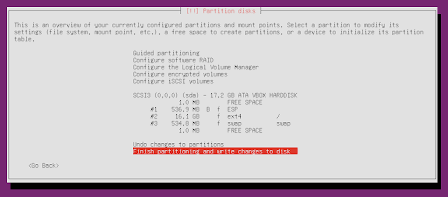 ubuntu minimal cd gpt partition table