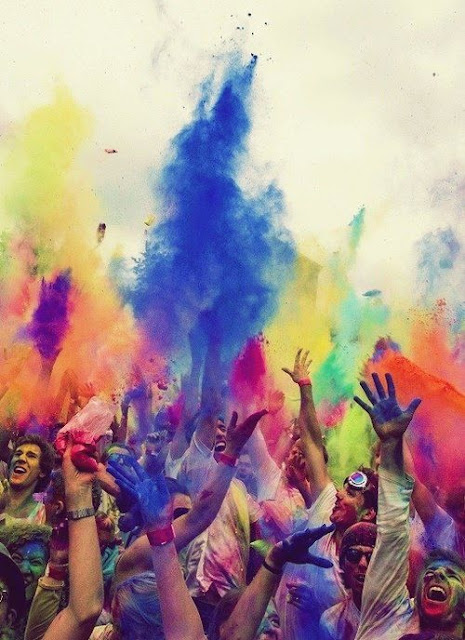 Holi renk festivali