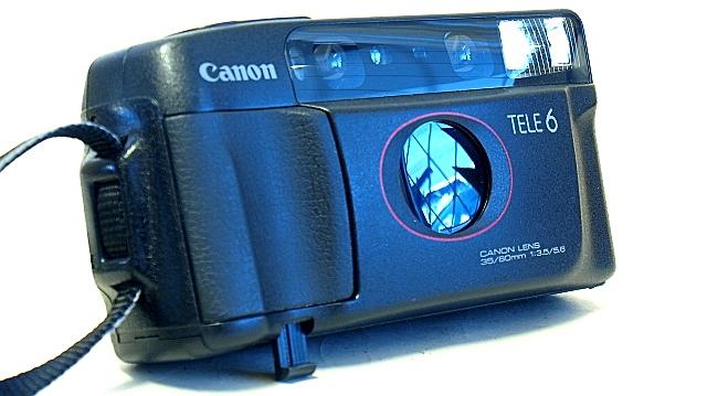 Canon Autoboy Tele 6, Tilt stand
