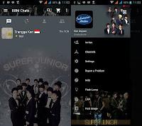 BBM MOD Super Junior versi Terbaru