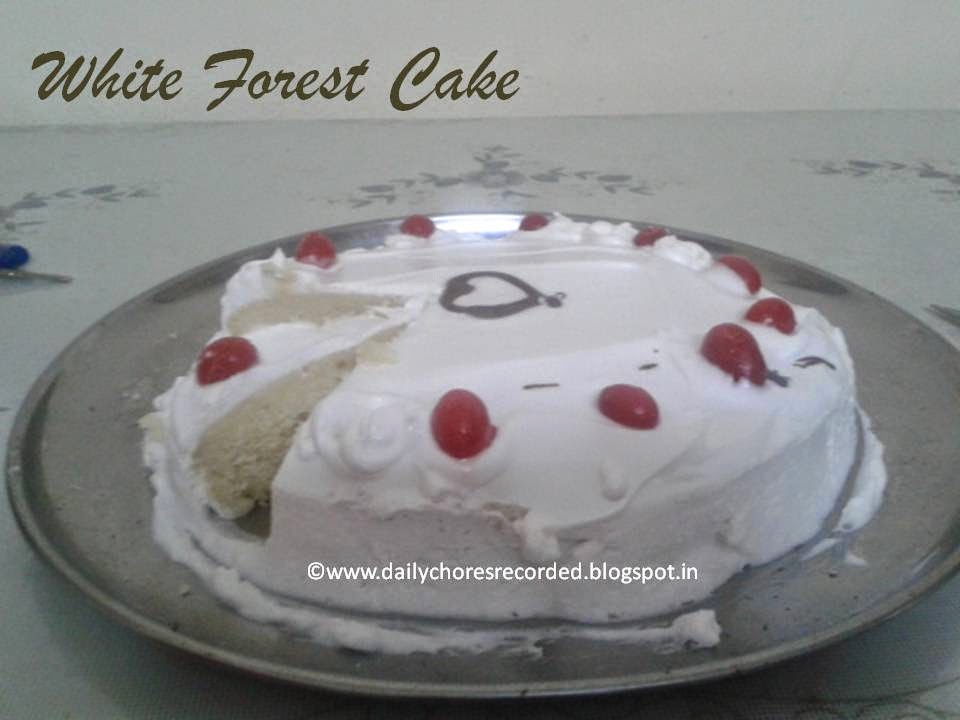 White Forest Cake Recipe In Pressure Cooker: Cooking & Baking