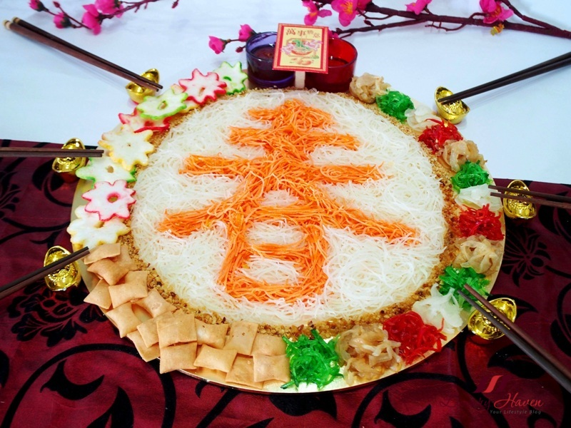 cny reunion dinner jellyfish yusheng lohei