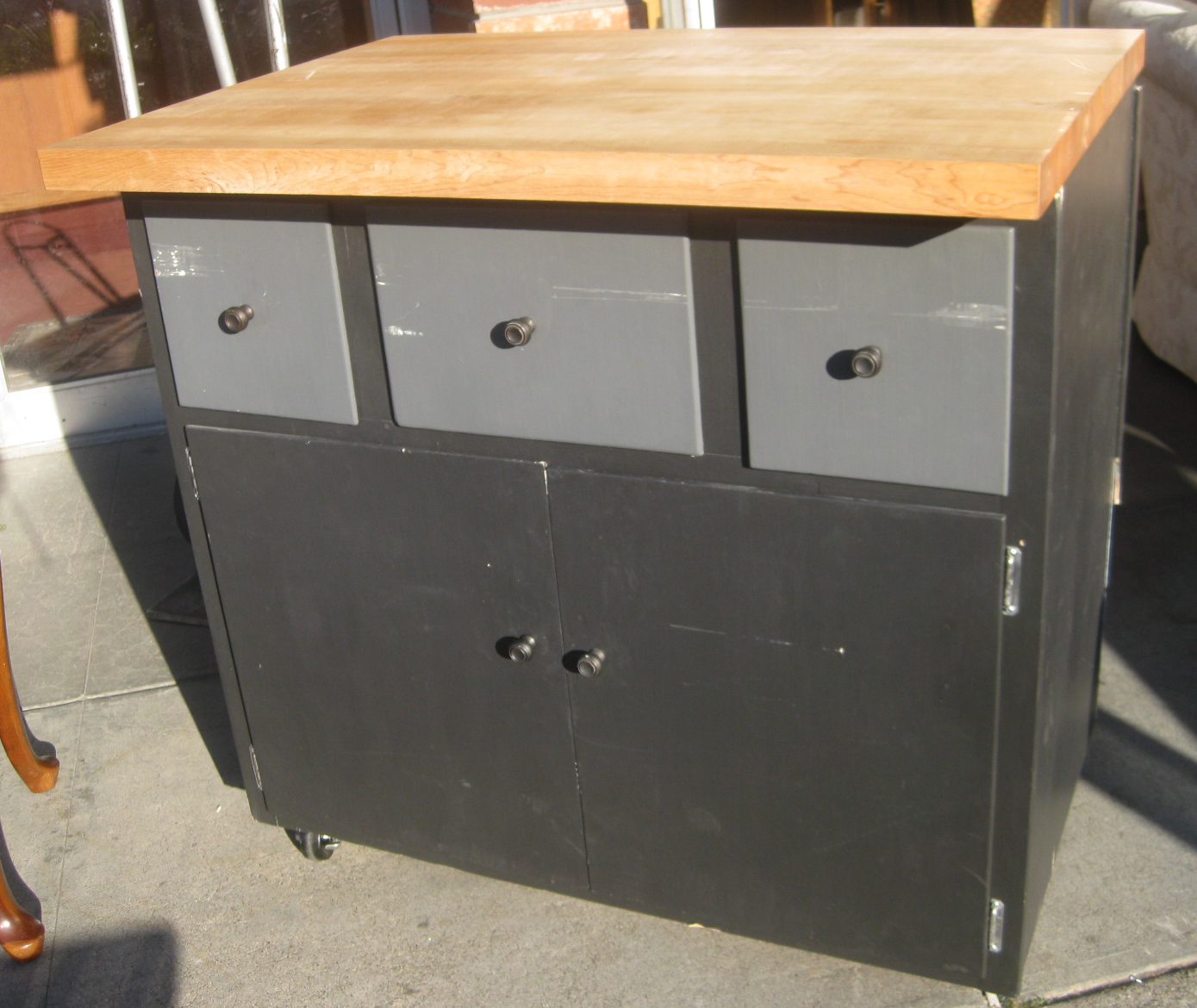 utility cabinet uhuru furniture amp collectibles sold rolling utility 27891
