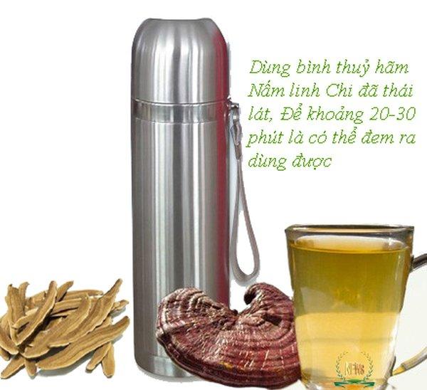 Nước nấm linh chi dễ sử dụng và hiệu quả cho sức khỏe.