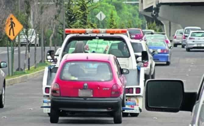 Servicio, multas, recargos, vehículos