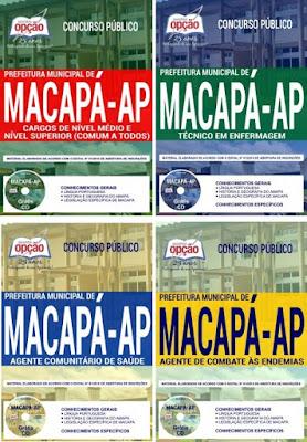 Apostila concurso para Prefeitura Municipal de Macapá - AP 2018