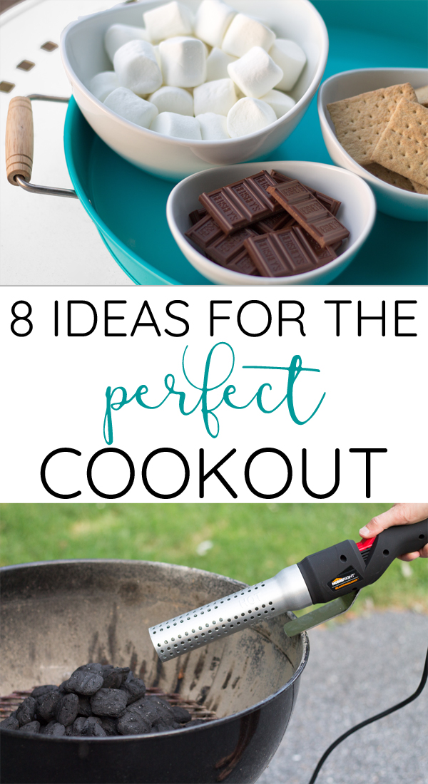 8 Great ideas for hosting an outdoor party or cookout. Have a stress free BBQ with these time saving tips!