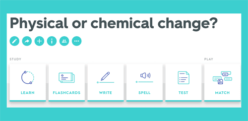 Physical or chemical change? Quiz