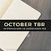 October TBR: cosa leggerò questo mese