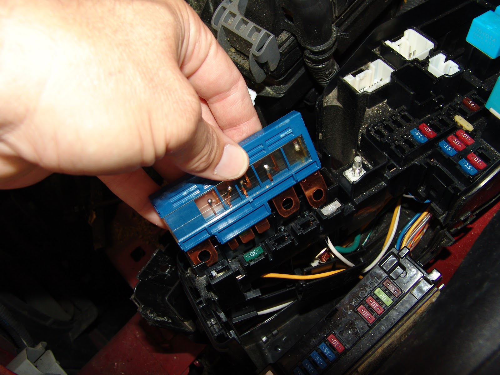 2007 Toyota Highlander Fuse Diagram Manual Of Wiring Box Get Free Image About Location