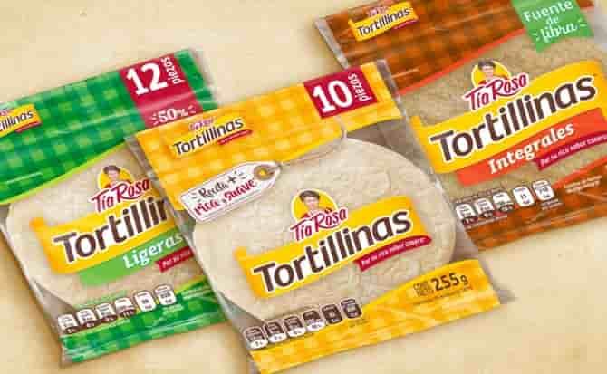 Tortillas, harina, alimento