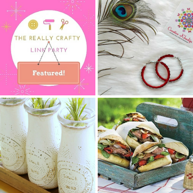 The Really Crafty Link Party #104 featured posts