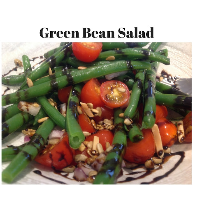 Green Bean and Cherry Tomato Salad with Balsamic Glaze