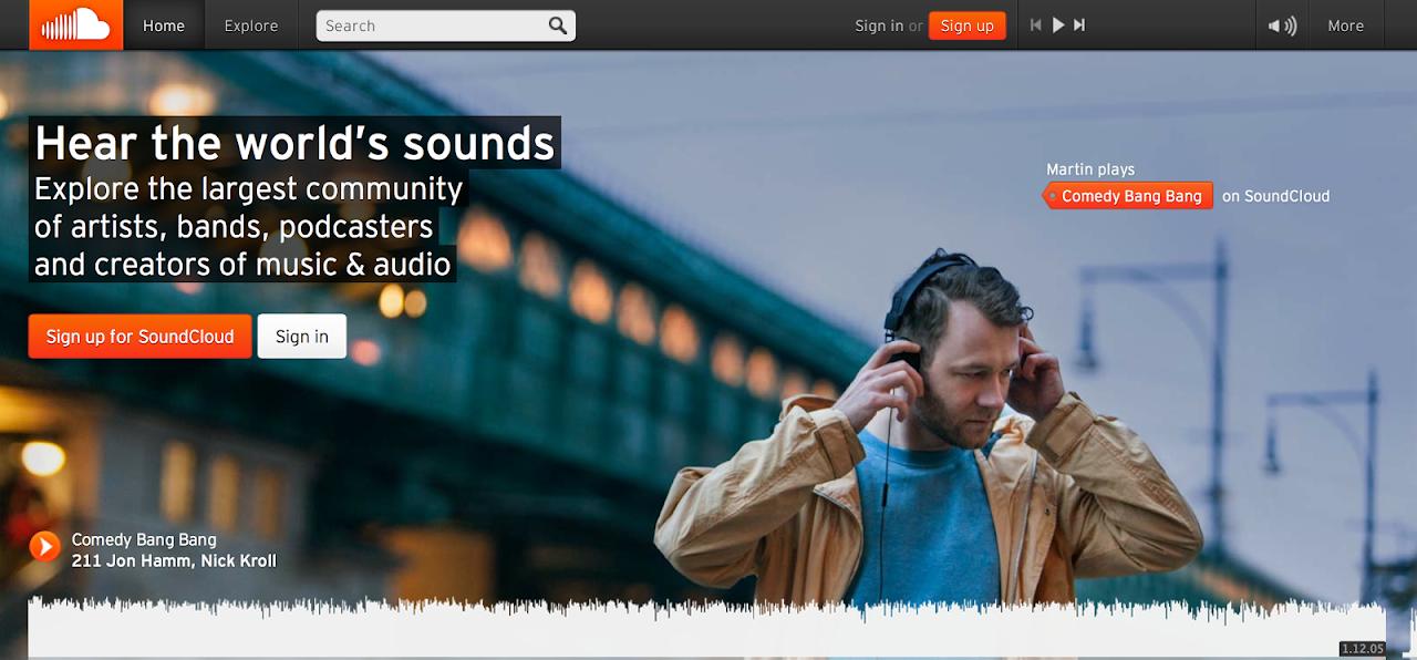 Comprare commenti SoundCloud