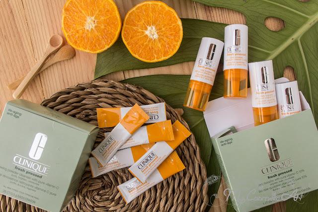 Clinique Fresh Pressed con 10% de Vitamina C pura: booster y limpiador en polvo.
