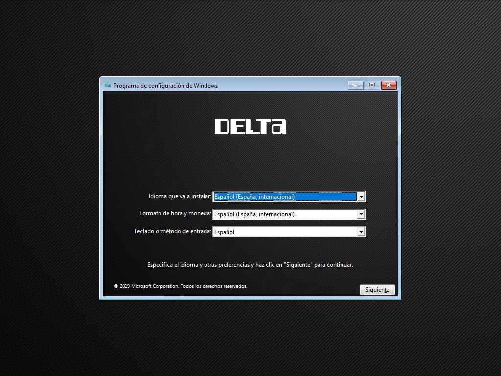 Windows 7 Delta Pro