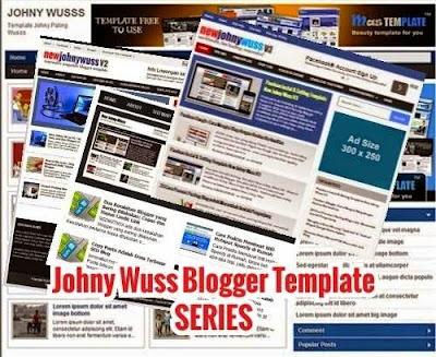 Johny Wuss - template blog seo, responsive dan fast laoding terbaru