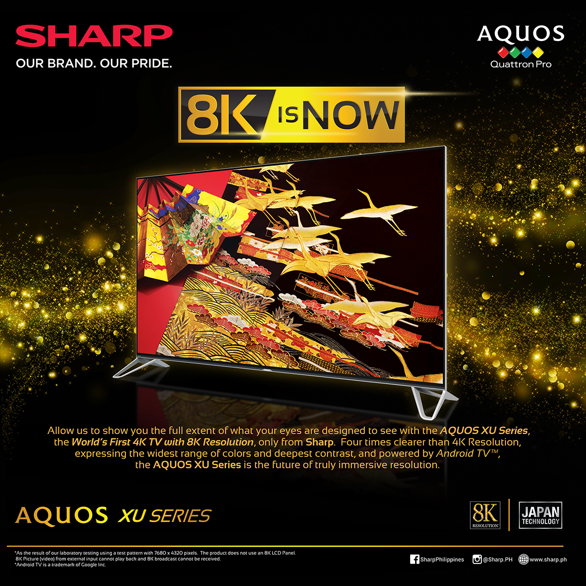 Sharp Introduces The First-Ever 4K TV With The World's