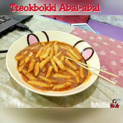 resep cara membuat tteokbokki