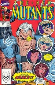 New Mutants #87 comic cover image