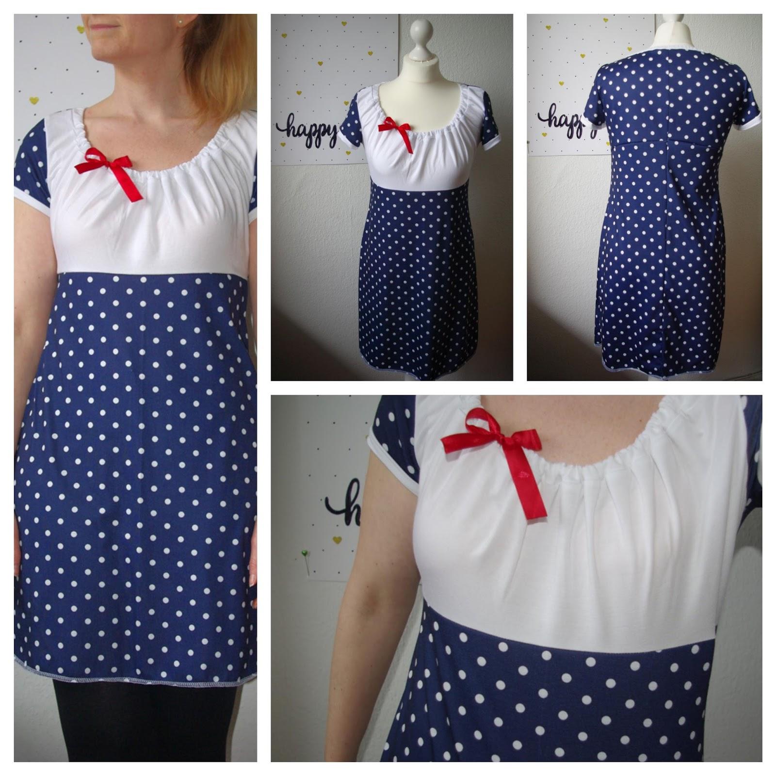 Kleid Ferrara von Schnittbox Collage Nähblog Basteltantes Nähkästchen