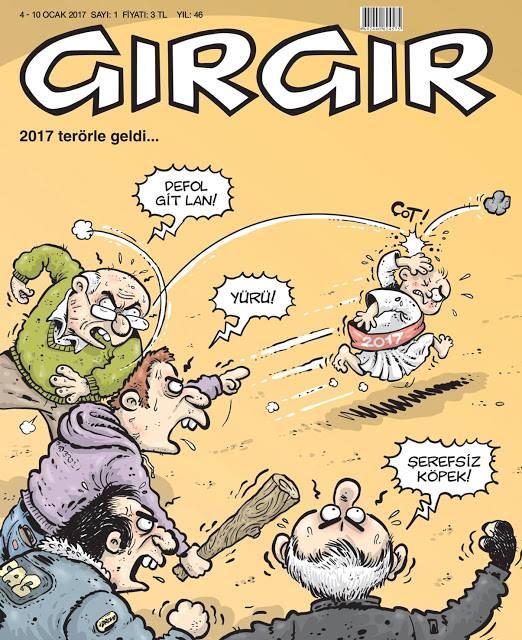 Hoşgeldin 2017 Gırgır Dergisi