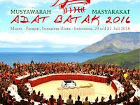 Penananan pohon sekaligus Pembukaan Musyawarah Masyarakat Adat Batak 2016 se-Indonesia di Parapat oleh Wakil Presiden Jusuf Kalla