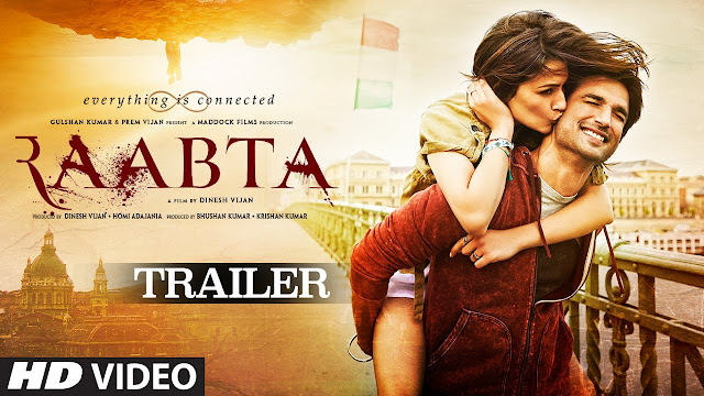 Raabta Movie Official Trailer | Sushant Singh Rajput & Kriti Sanon