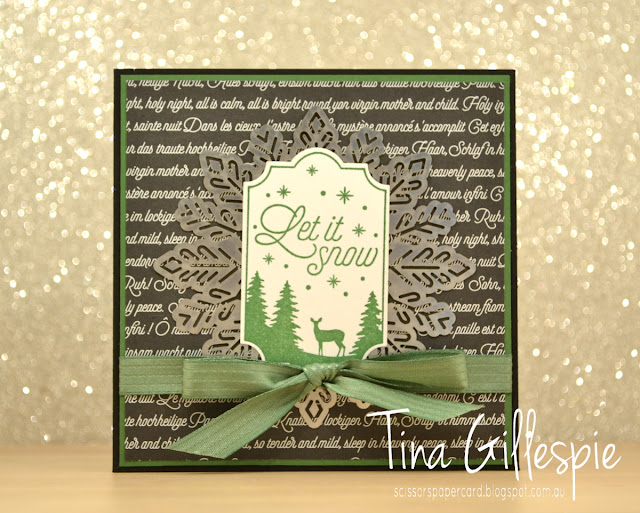 scissorspapercard, Stampin' Up!, Art With Heart, Merry Little Labels, Merry Music SDSP, Christmas