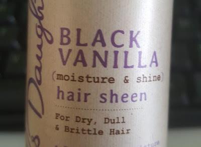Hair Sheen Black Vanilla Carol's Daughter