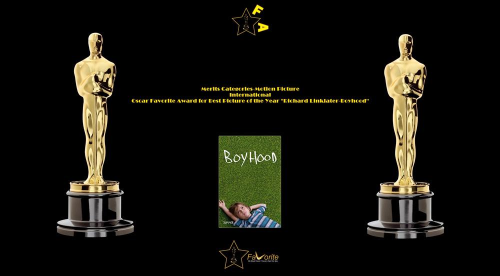 oscar favorite best picture of the year international award boyhood