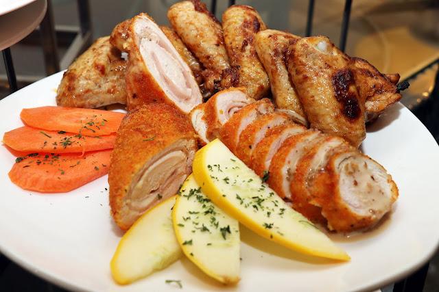 SHAH ALAM NEW YEAR 2020 HI TEA Menu - Chicken Cordon Blueu