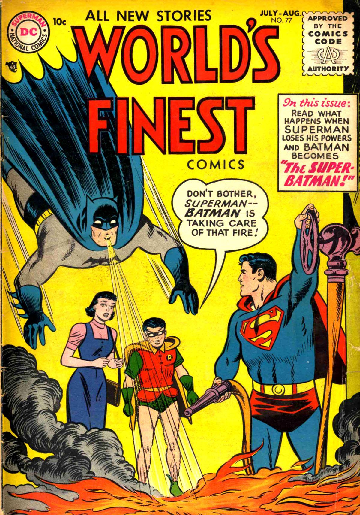 Read online World's Finest Comics comic -  Issue #77 - 1