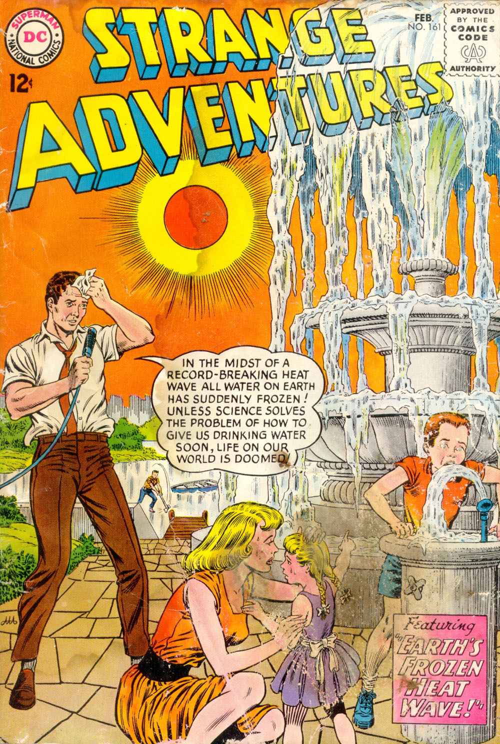 Strange Adventures (1950) issue 161 - Page 1