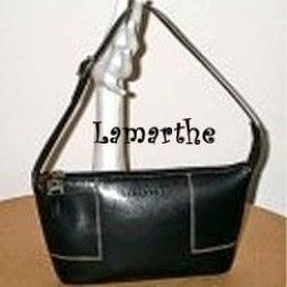 lamarthe little black designer bag