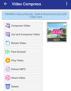 Video Ka Size Kam Karne Ka App Or Software ( Video Compress App Download)